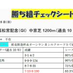 2018第48回 高松宮記念(G1)勝ち組TC